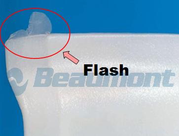 Molding flash